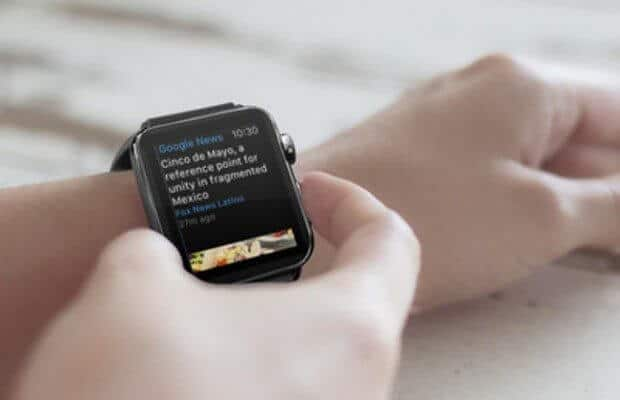Apple Watch with Google News