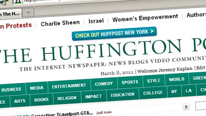 Huffington Post Verizon