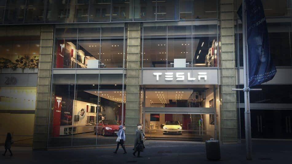 Tesla Motors Inc (TSLA) Sydney Australia