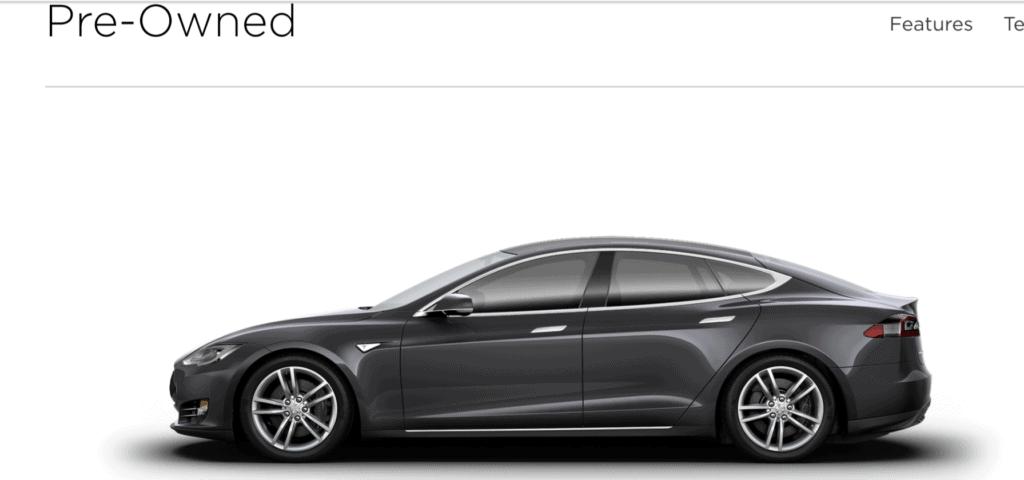 Tesla Motors Certified Pre-owned Model S