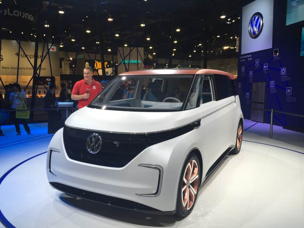 Volkswagen Buddy at CES 2016 Photo by David Goldstein