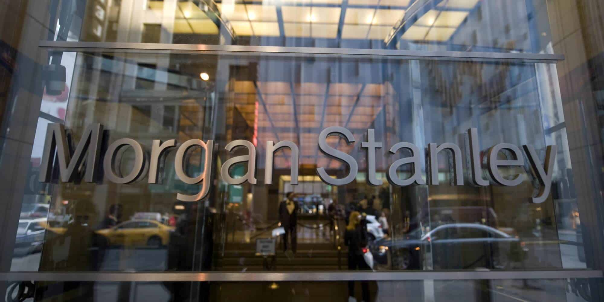Morgan Stanley NYSE:MS