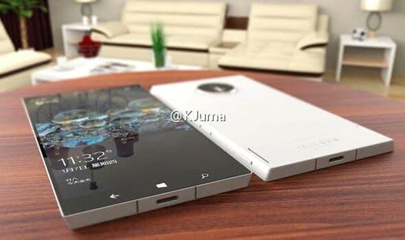 Microsoft Surface Phone Leaked Photo