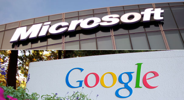 Microsoft (MSFT) and Google (GOOG)