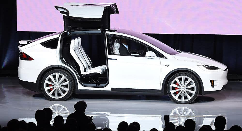 Tesla Motors Inc (TSLA) Model X Founders Edition Presentation