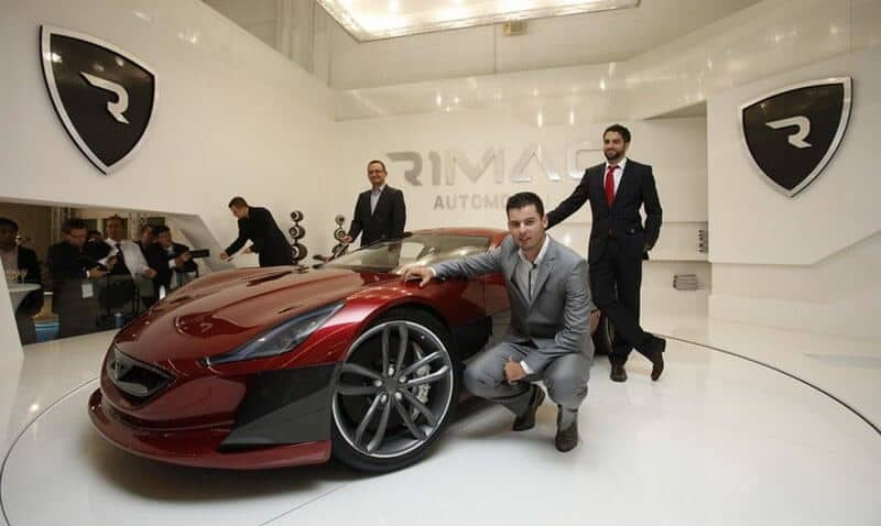 Rimac is Tesla Speed Rival