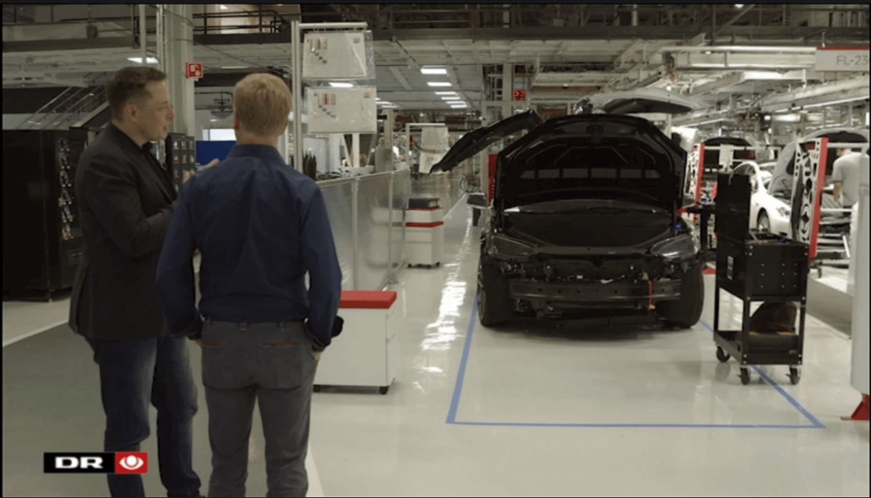 Screen Tesla Motors Inc Model X storage