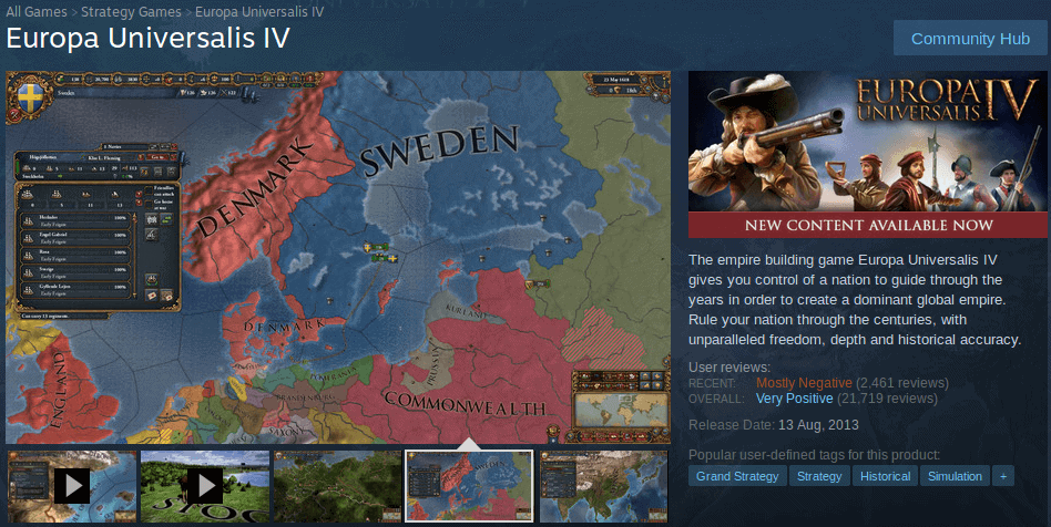 Paradox Interactive negative reviews