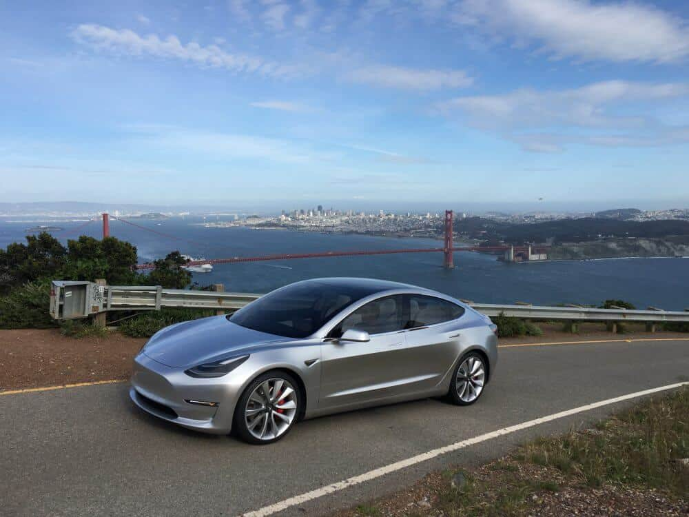 Tesla Motors Inc (TSLA) Model 3