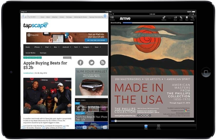 Split Screen Apple Inc iPad
