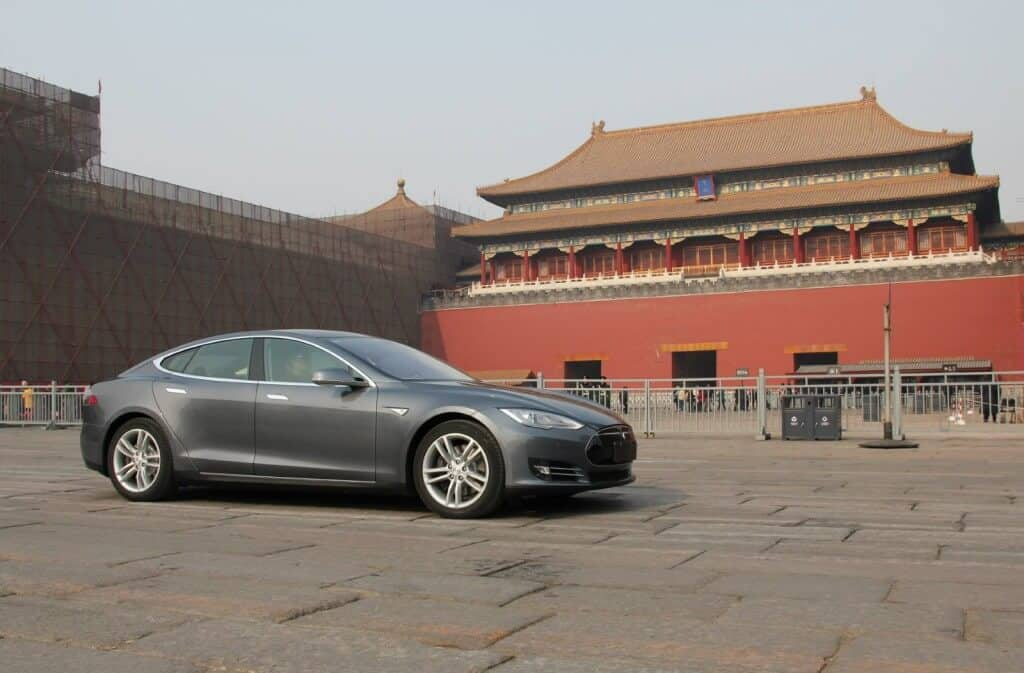 Tesla Motors Inc TSLA China
