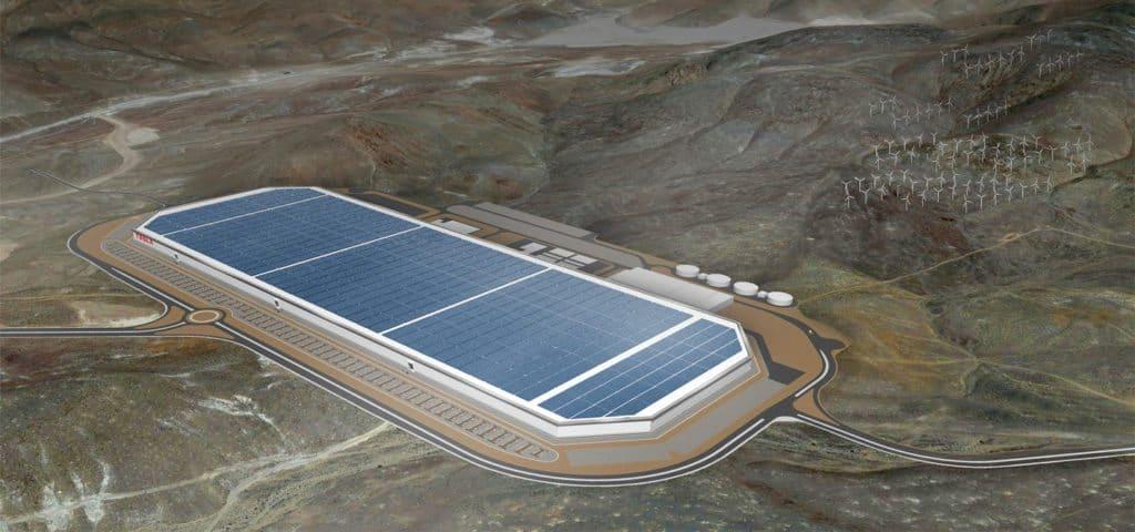 Tesla Motors Inc (TSLA) Gigafactory