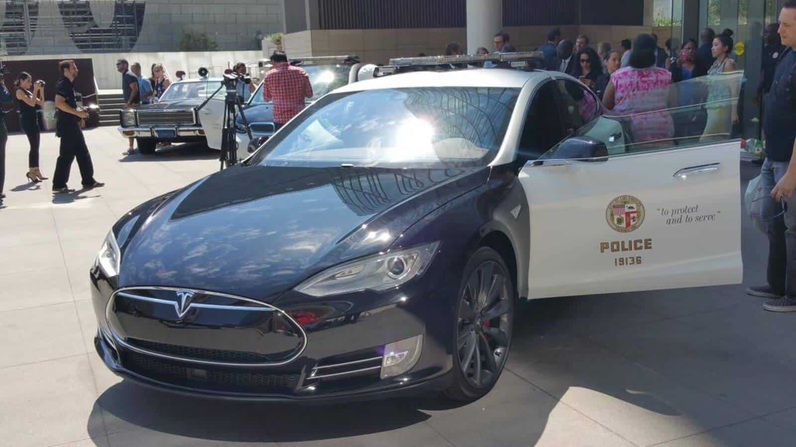 Tesla Motors Inc (TSLA) Los Angeles Police Department