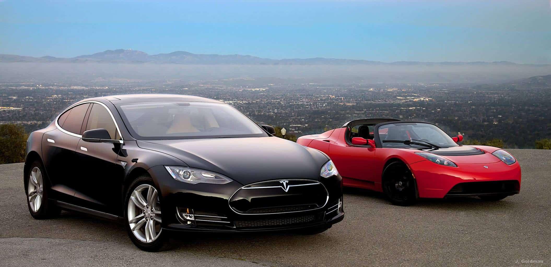 Tesla Motors Inc (NASDAQ:TSLA) Model S and Roadster