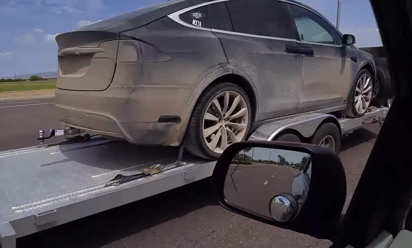 Tesla Motors Inc Model X off road