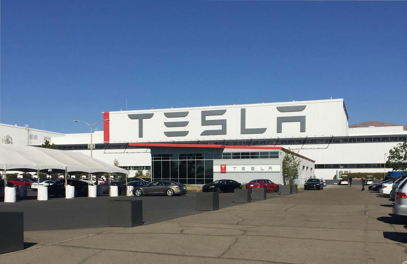 Tesla Motors Inc (TSLA) Factory Freemont, California