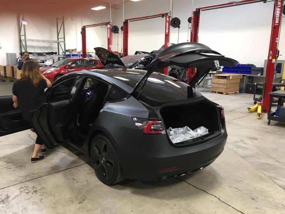 Tesla Motors Model 3 Doors