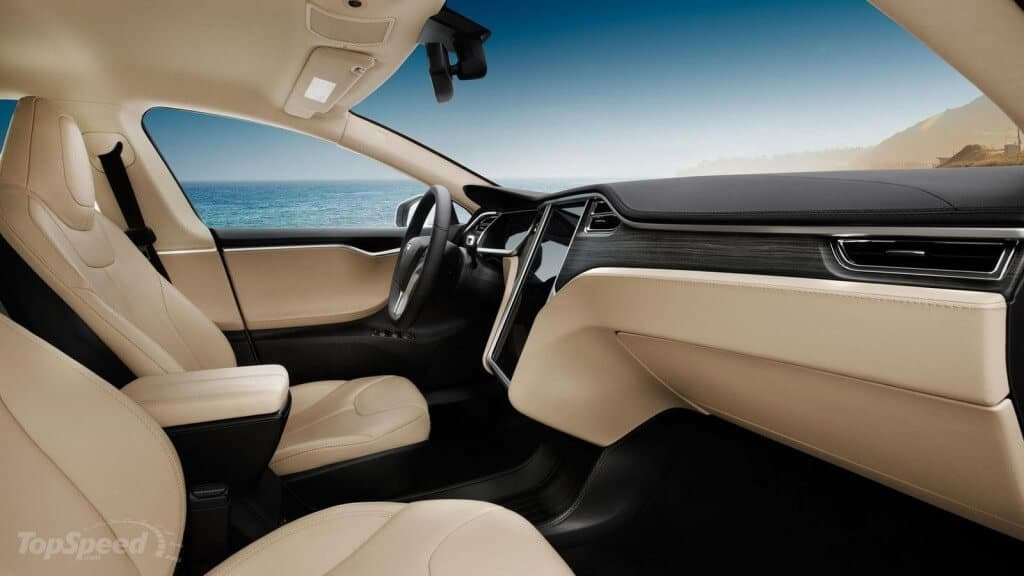 Tesla Motors, Inc. Vegan Interior