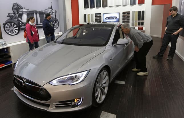 Tesla Motors Inc Model S (TSLA)
