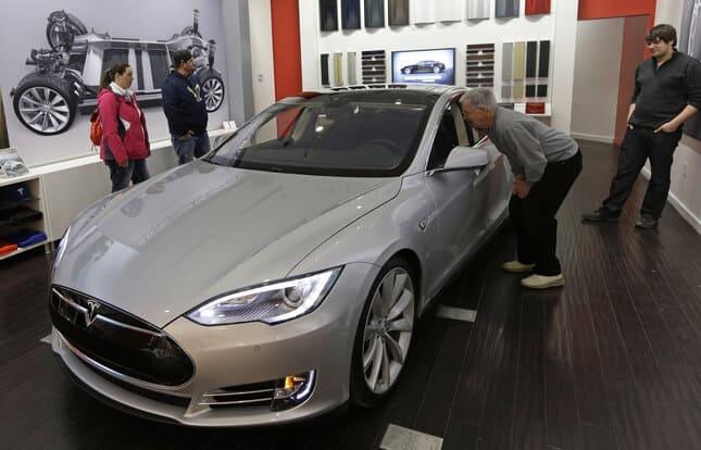 Tesla Motors Inc Model S (TSLA)