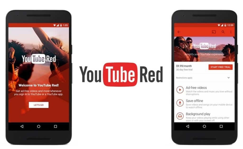 YouTube Red - Alphabet Inc (GOOGL)