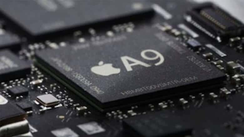 apple iphone chips