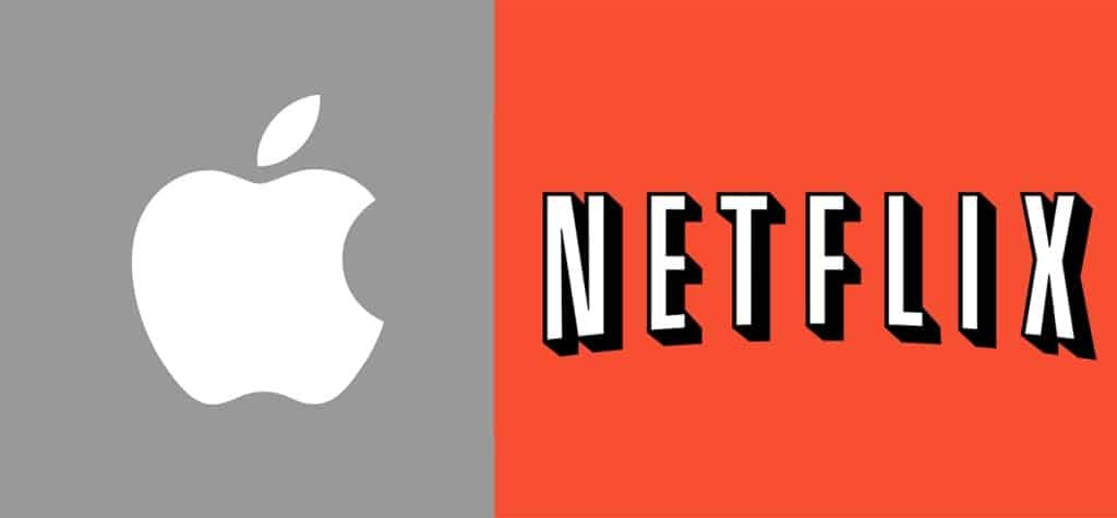 apple  (AAPL) VS Netflix (NFLX)