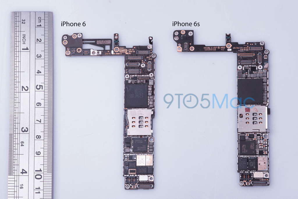 iPhone 7 motherboard