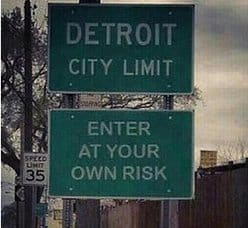 detroit enter at your own risk