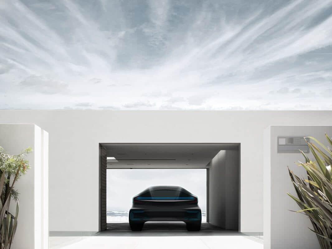 tesla motors rival faraday-future-electric-car