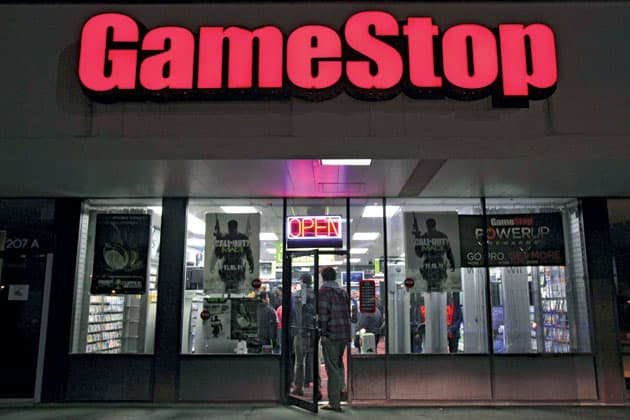 game stop corp electronic arts inc