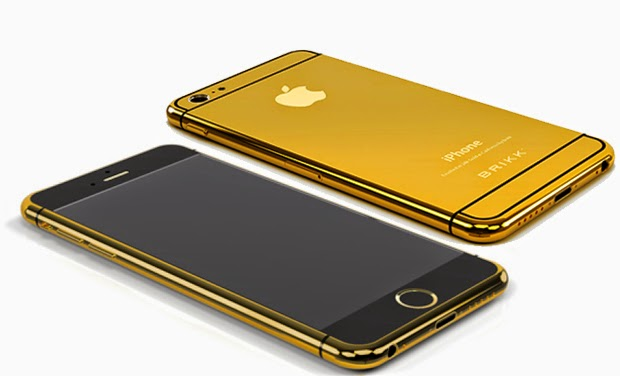 Apple Inc. (AAPL) iPhone 6s gold