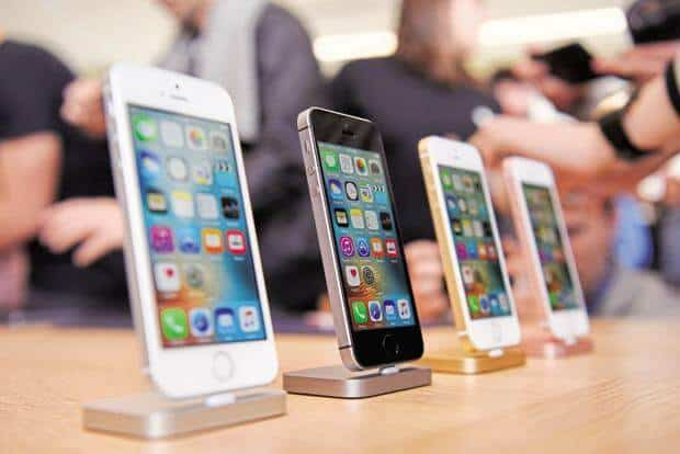 Apple Inc (NSDAQ:AAPL) iPhone SE