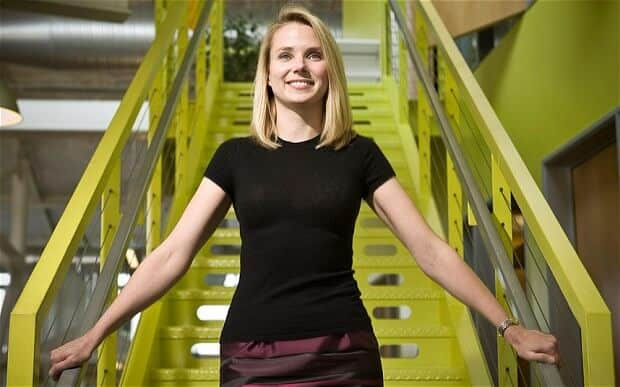 marissa mayer yahoo aol