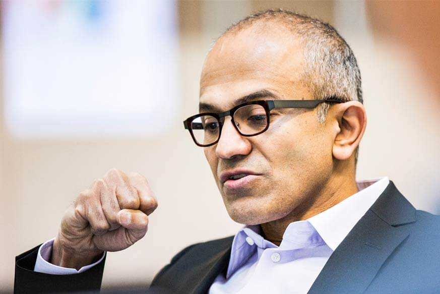 microsoft corporation Google Inc Nadella