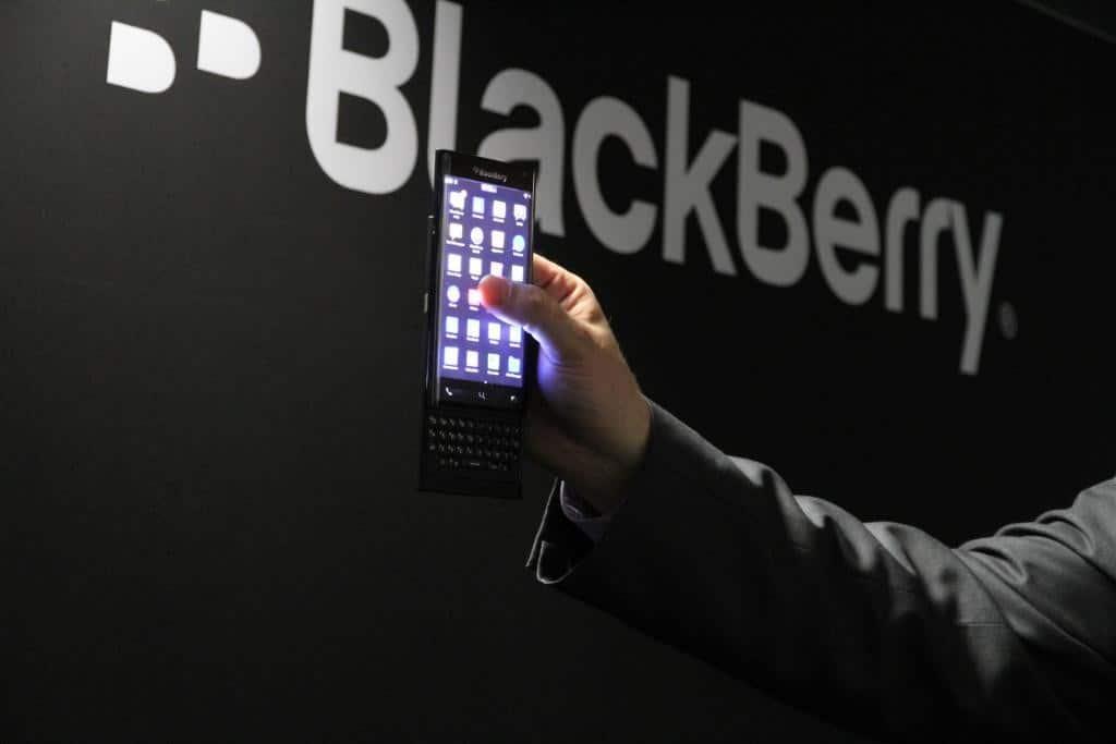 blackberry ltd slider