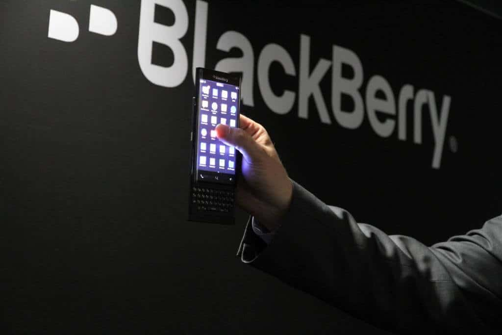 blackberry ltd slider