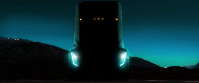 Tesla Inc (NASDAQ:TSLA) Semi Truck