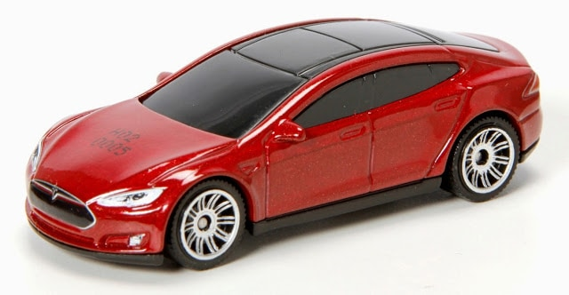 tesla motors in model s toys
