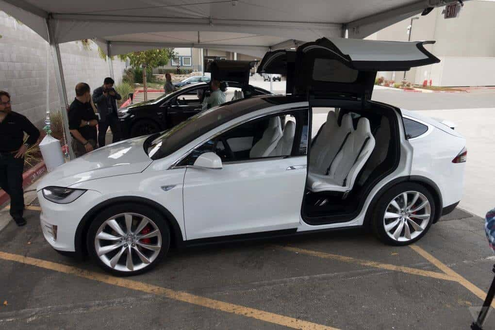 Tesla Motors Inc (TSLA) Model X SUV