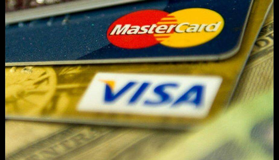 Mastercard, Twitter and Facebook