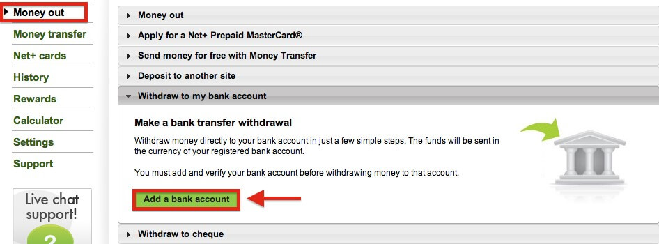 How to Withdraw From Neteller to Your Bank